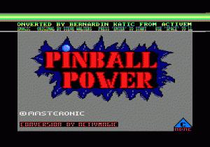 3D-Pinball per Amstrad CPC