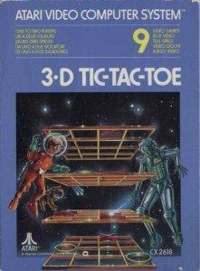 3-D Tic-Tac-Toe per Atari 2600