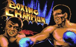 3D World Boxing per Commodore 64