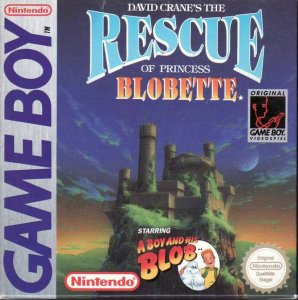 David Crane's The Rescue of Princess Blobette per Game Boy