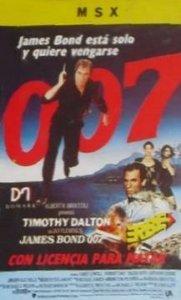 007: Licence to Kill per MSX