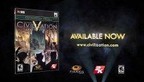 Sid Meier's Civilization V: Brave New World - Lo spot di lancio