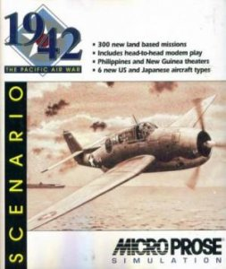 1942: The Pacific Air War Scenario per PC MS-DOS