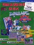 Simulador Profesional de Fútbol per PC MS-DOS