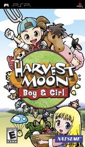 Harvest Moon: Boy & Girl per PlayStation Portable