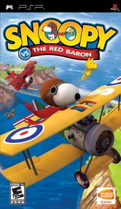 Snoopy vs The Red Baron per PlayStation Portable