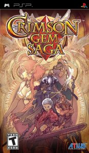 Crimson Gem Saga per PlayStation Portable