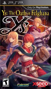 Ys: The Oath in Felghana per PlayStation Portable