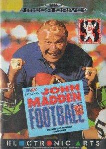 John Madden Football '93 per Sega Mega Drive