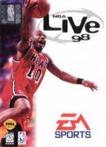 NBA Live 98 per Sega Mega Drive