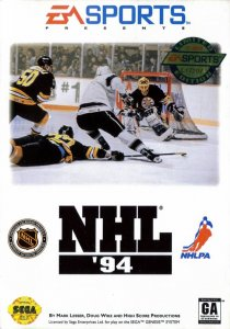 NHL '94 per Sega Mega Drive