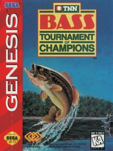 TNN Bass Tournament of Champions per Sega Mega Drive