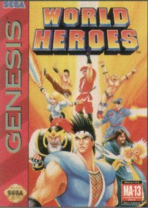 World Heroes per Sega Mega Drive