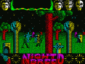 Clive Barker's Nightbreed: The Action Game per Sinclair ZX Spectrum