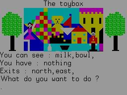 The Queen of Hearts per Sinclair ZX Spectrum