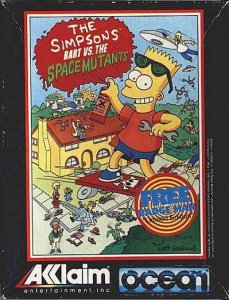 The Simpsons: Bart vs. the Space Mutants per Sinclair ZX Spectrum