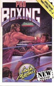 Pro Boxing Simulator per Sinclair ZX Spectrum