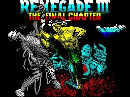Renegade III: The Final Chapter per Sinclair ZX Spectrum