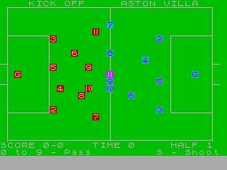 Star Soccer per Sinclair ZX Spectrum