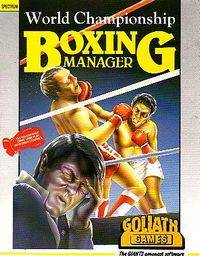 World Championship Boxing Manager per Sinclair ZX Spectrum