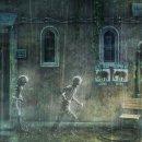 Assieme, sotto la pioggia