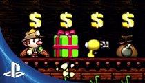 Spelunky - Trailer delle versioni PlayStation 3 e PlayStation Vita