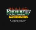 Romance of the Three Kingdoms IV: Wall of Fire per Nintendo Wii U