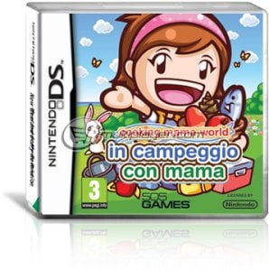 Cooking Mama World: In Campeggio con Mama per Nintendo DS