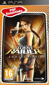 Tomb Raider: Anniversary per PlayStation Portable
