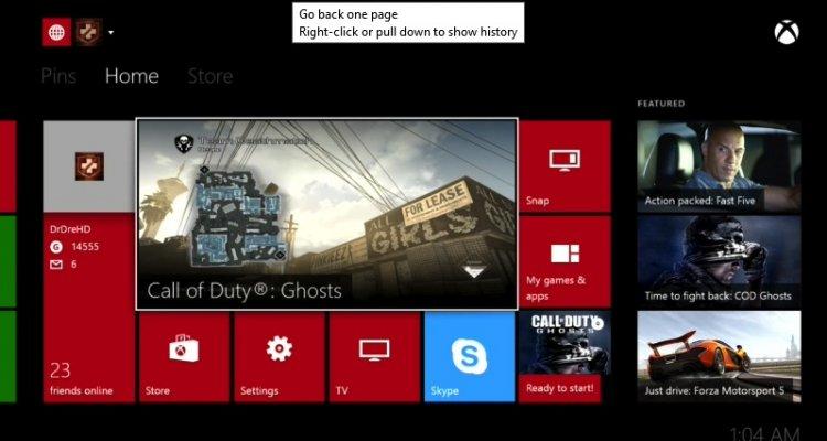Xbox One - L'aggiornamento di sistema arriva oggi