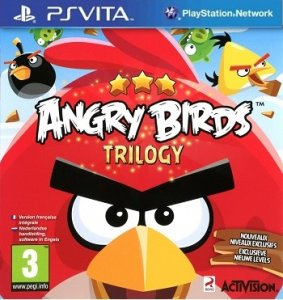 Angry Birds Trilogy per PlayStation Vita