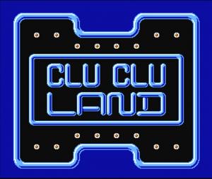 Clu Clu Land per Nintendo Wii U