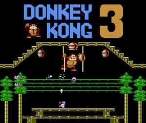 Donkey Kong 3 per Nintendo Wii U