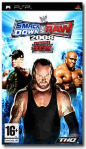 WWE Smackdown! vs Raw 2008 per PlayStation Portable