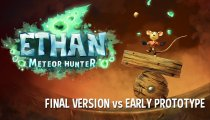 Ethan: Meteor Hunter - Il confronto tra il prototipo e la versione finale