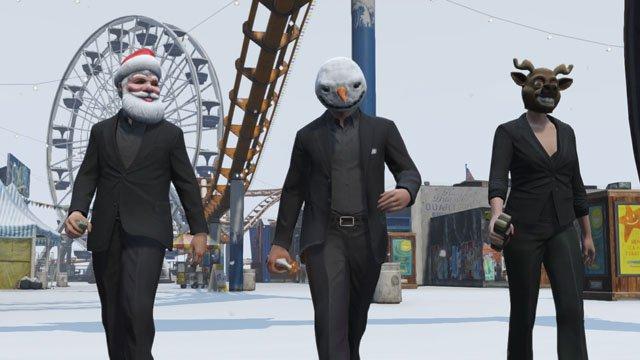 Grand Theft Auto Online, ecco i regali di Natale di Rockstar