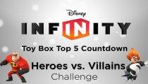 """Disney Infinity - Video sulle migliori 5 Toy Box del concorso """"Heroes vs Villains"""""""