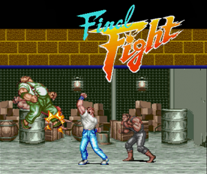 Final Fight per Nintendo Wii