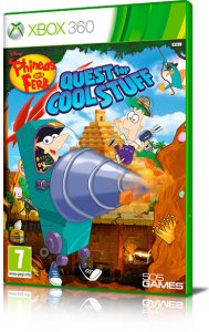 Phineas and Ferb: Quest for Cool Stuff per Xbox 360