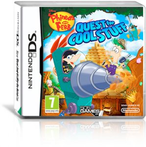 Phineas and Ferb: Quest for Cool Stuff per Nintendo DS