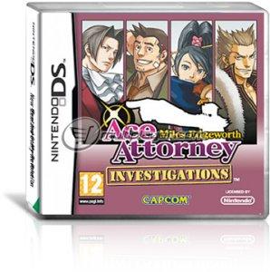 Ace Attorney Investigations: Miles Edgeworth per Nintendo DS