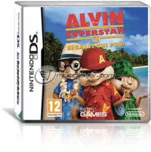 Alvin Superstar 3: Si Salvi Chi Può! per Nintendo DS