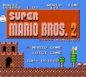 Super Mario Bros.: The Lost Levels per Nintendo Wii