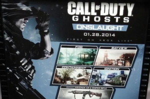 Call of Duty: Ghosts - Onslaught per Xbox 360