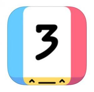 Threes! per iPad