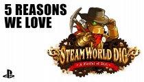 """SteamWorld Dig - Videodiario delle """"5 cose che amiamo"""" per PlayStation 4"""