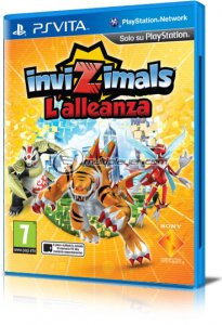 Invizimals: L'Alleanza per PlayStation Vita