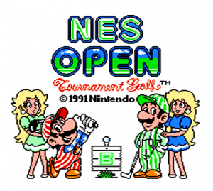 NES Open Tournament Golf per Nintendo Wii U