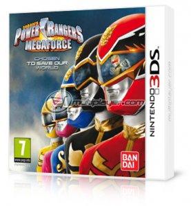 Power Rangers Megaforce per Nintendo 3DS