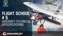World of Warplanes - Video con le specifiche tecniche degli aerei
